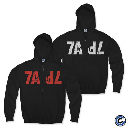 "7 Angels 7 Plagues ""7A7P"" Zip Up Hoodie"