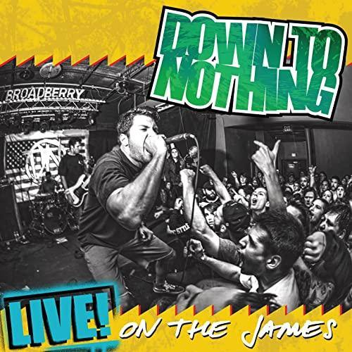 "Buy – Down To Nothing ""Live! On The James"" 12"" – Band & Music Merch – Cold Cuts Merch"
