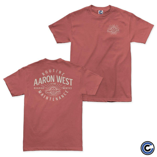 "Buy – Aaron West & The Roaring Twenties ""Sun"" Shirt – Band & Music Merch – Cold Cuts Merch"
