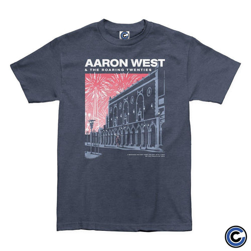 "Buy – Aaron West & The Roaring Twenties ""Fireworks"" Shirt – Band & Music Merch – Cold Cuts Merch"