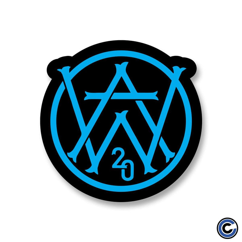 "Aaron West & The Roaring Twenties ""AW Black"" Sticker"