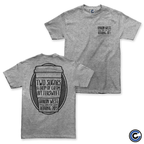 "Buy – Aaron West & The Roaring Twenties ""Coffee"" Shirt – Band & Music Merch – Cold Cuts Merch"