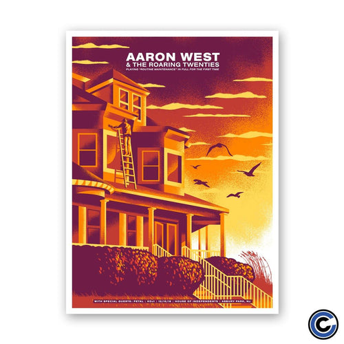 "Aaron West and The Roaring Twenties ""Paint"" Poster"