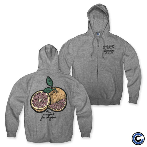 "Aaron West & The Roaring Twenties ""Grapefruit"" Zip Up Hoodie"
