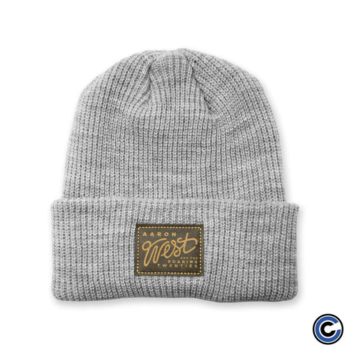 "Aaron West ""Label Badge"" Knit Beanie"