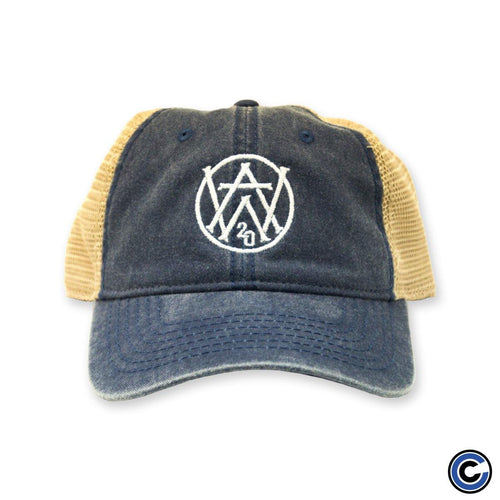 "Aaron West and the Roaring Twenties ""Monogram"" Mesh Hat"
