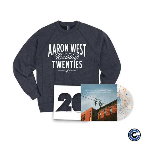 "Aaron West And The Roaring Twenties ""Routine Maintenance"" Crewneck Bundle"