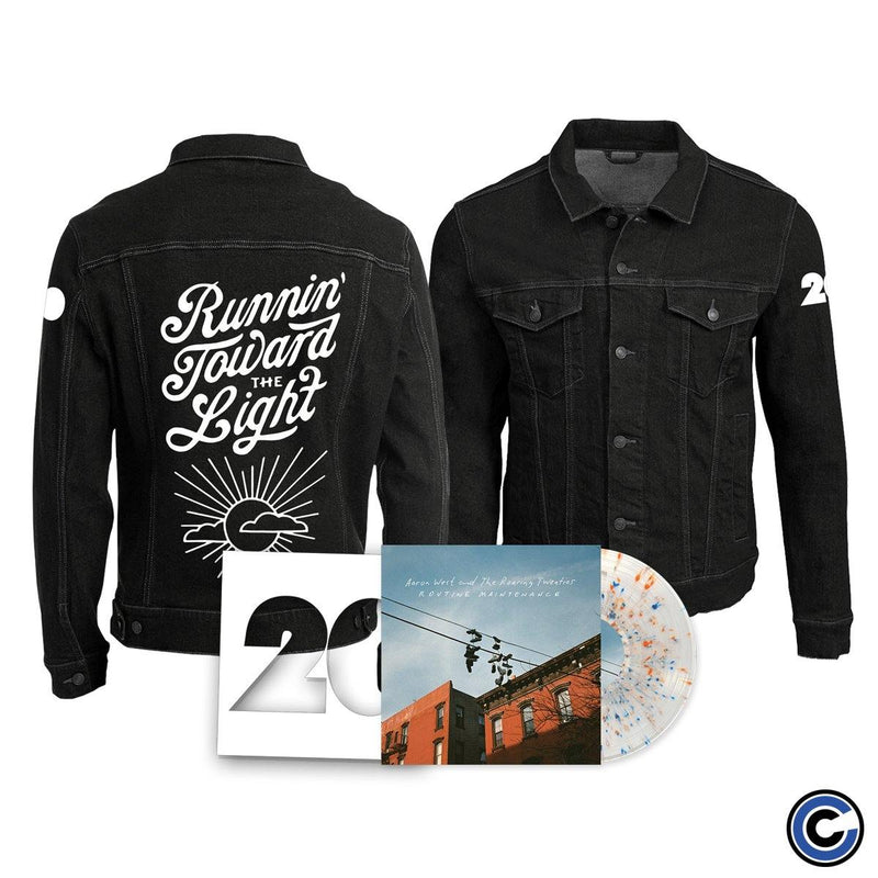 "Aaron West And The Roaring Twenties ""Routine Maintenance"" Jacket Bundle"