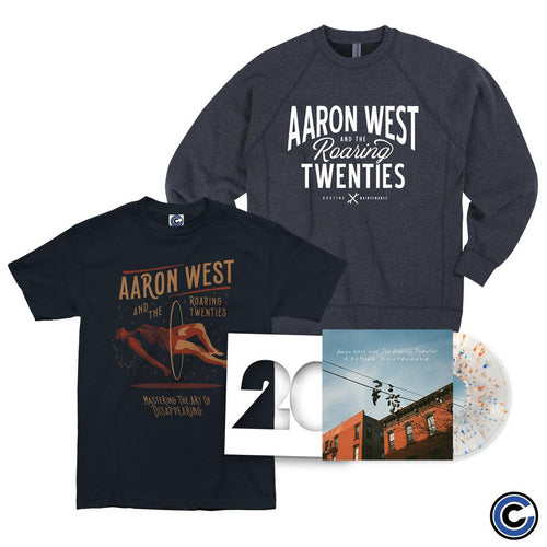 "Aaron West & The Roaring Twenties ""Routine Maintenance"" Shirt/Crewneck Bundle"