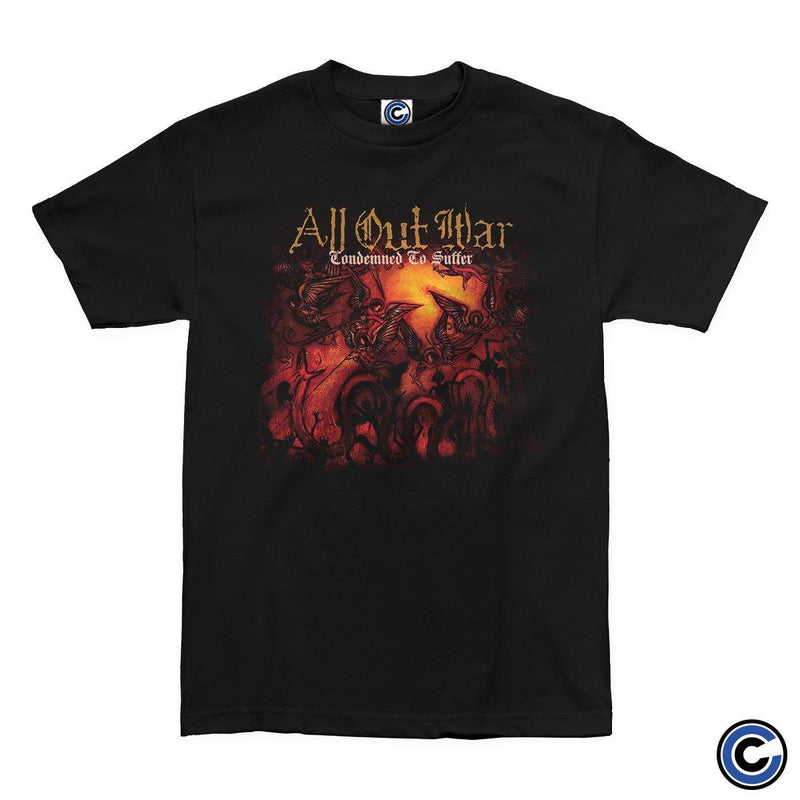 "All Out War ""Condemned to Suffer"" Shirt"