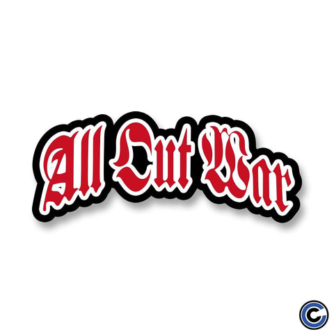 "All Out War ""Crucified Og"" Sticker"
