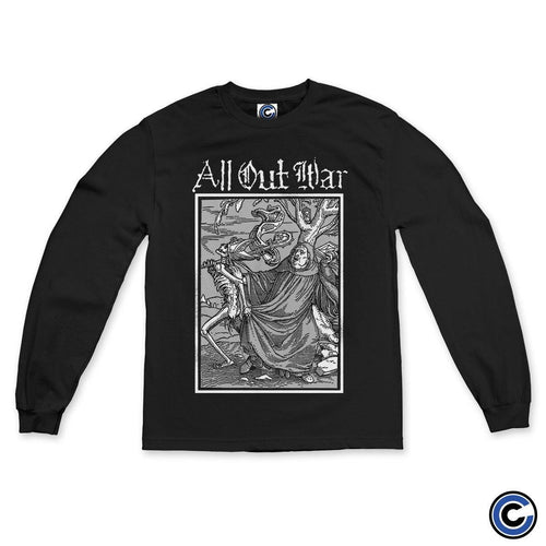 "Buy – All Out War ""Dance of Death"" Long Sleeve – Band & Music Merch – Cold Cuts Merch"