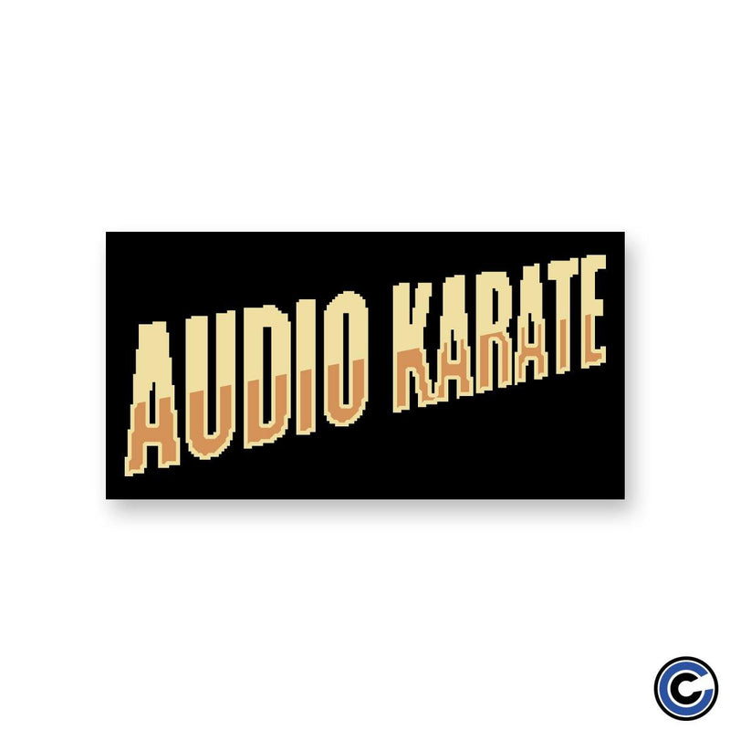 "Audio Karate ""8Bit Logo"" Sticker"