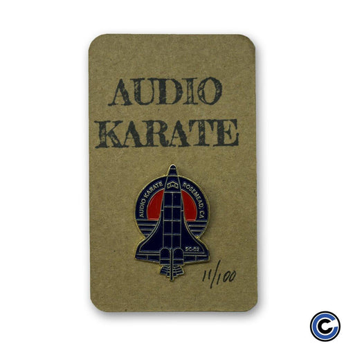 "Audio Karate ""Jet"" Pin"