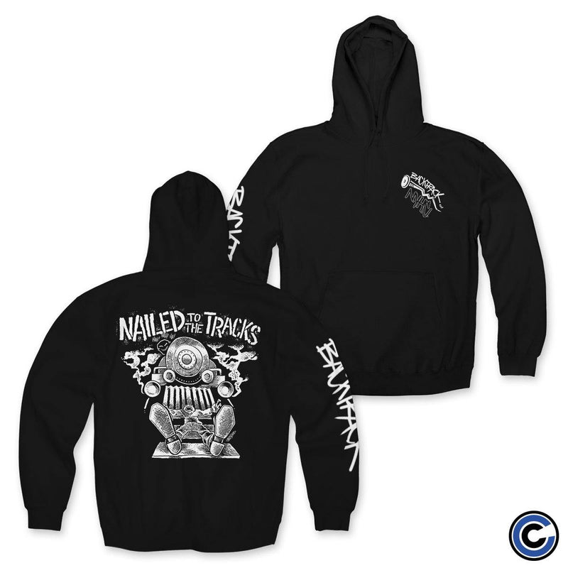"Backtrack ""Nailed to the Tracks"" Hoodie"