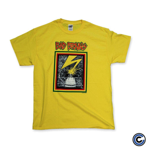 "Bad Brains ""Capitol"" Gold Shirt"