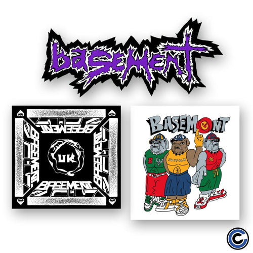 "Basement ""Tour"" Sticker Pack"