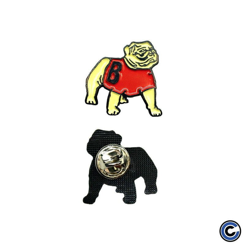 "Basement ""Bulldog"" Enamel Pin"