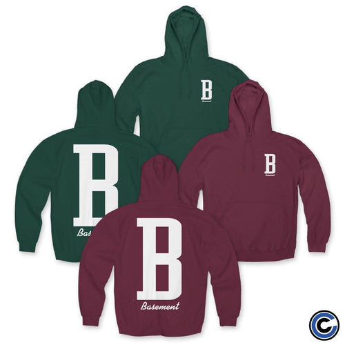 "Buy – Basement ""B"" Hoodie – Band & Music Merch – Cold Cuts Merch"
