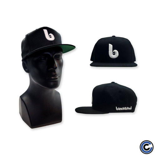"Buy Now – Blacklisted ""B"" Black Snapback – Cold Cuts Merch"