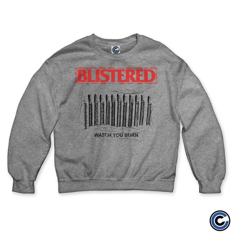 "Blistered ""Watch You Burn"" Crewneck"