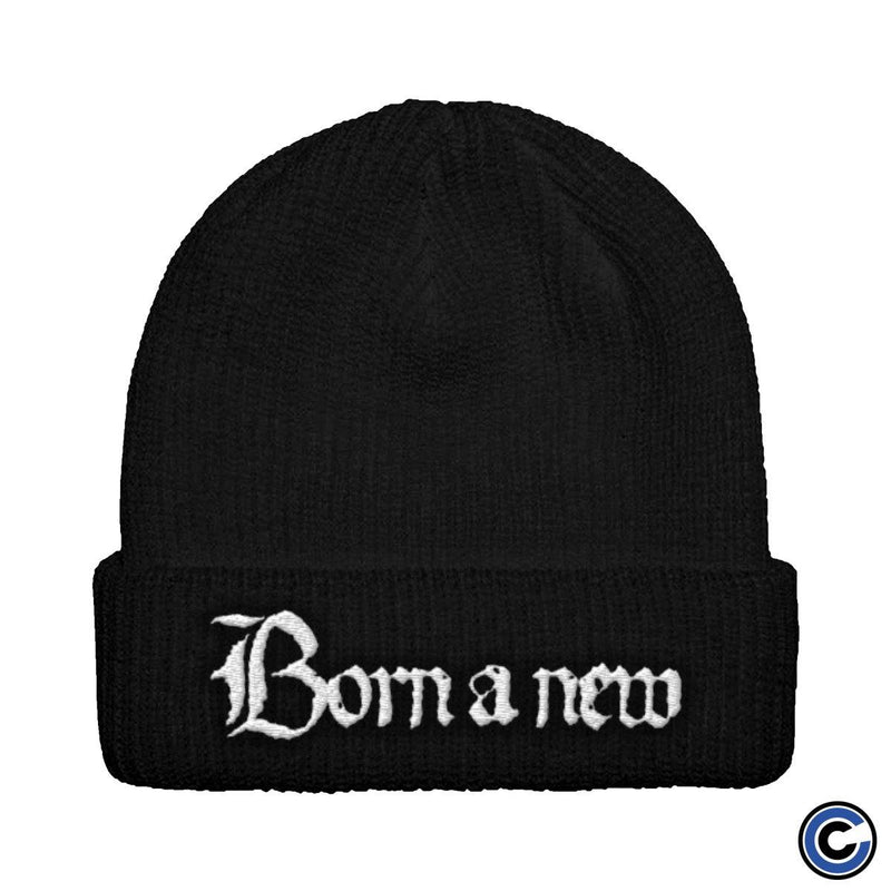 "Born A New ""Big B"" Logo Beanie"