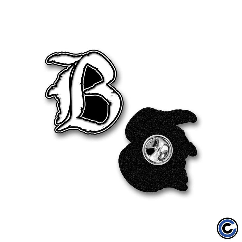 "Born A New ""B Logo"" Pin"