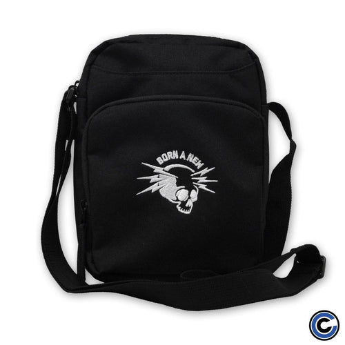 "Born A New ""Skull Lightning"" Shoulder Bag"