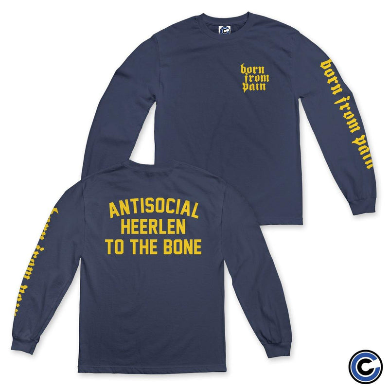 "Born From Pain ""Antisocial"" Long Sleeve"