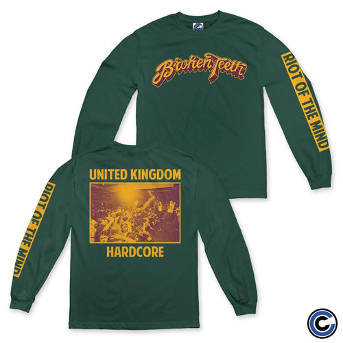 "Broken Teeth ""Riot Of The Mind"" Long Sleeve"