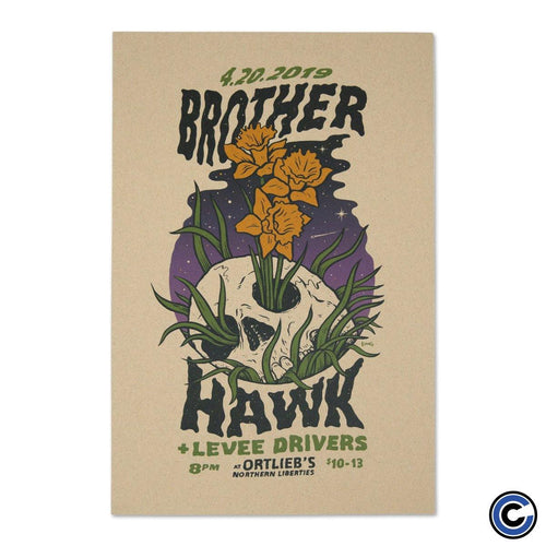 "Buy – Brother Hawk ""Ortliebs"" Poster – Band & Music Merch – Cold Cuts Merch"