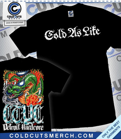 "Cold As Life ""Dragon"" Shirt"
