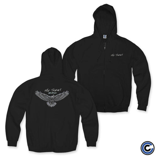 "Buy – Ship Thieves ""Irruption"" Zip Hoodie – Band & Music Merch – Cold Cuts Merch"
