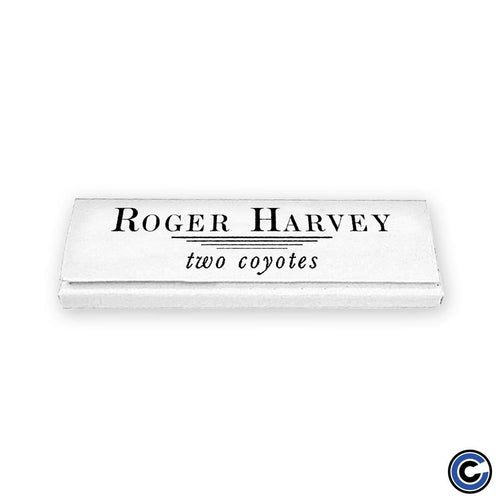 "Buy – Roger Harvey ""Two Coyotes"" Rolling Papers – Band & Music Merch – Cold Cuts Merch"