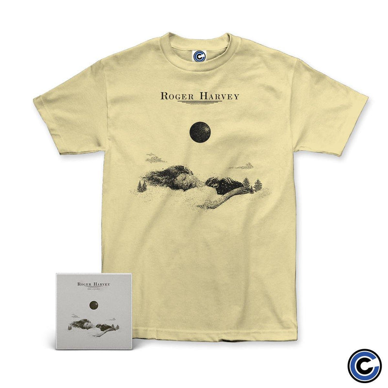 "Roger Harvey ""Two Coyotes"" CD + Shirt Bundle"