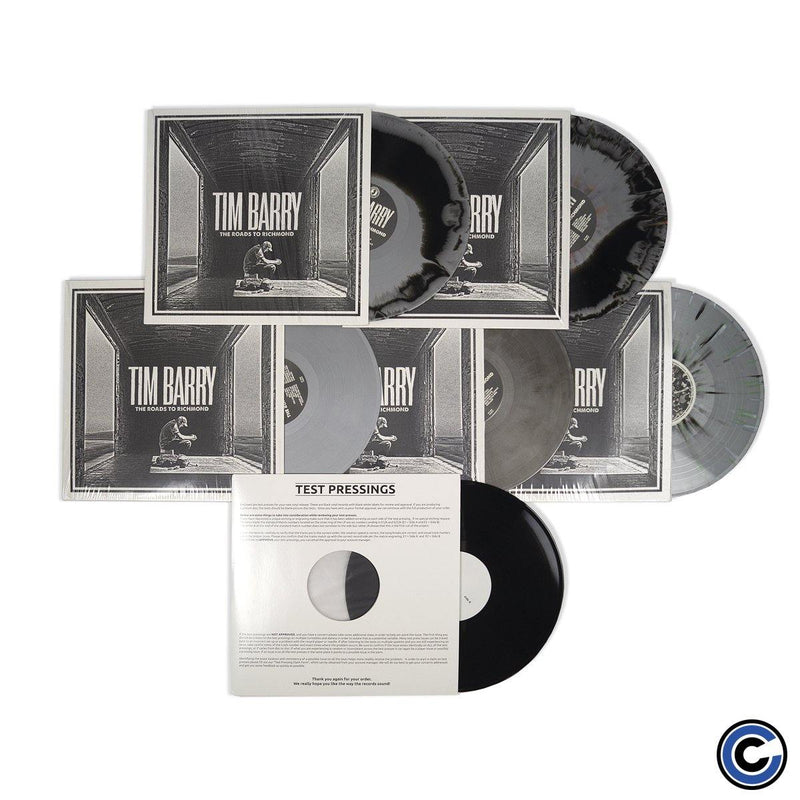 "Buy – Tim Barry ""The Roads To Richmond"" Ultimate Vinyl Collector Edition Bundle – Band & Music Merch – Cold Cuts Merch"