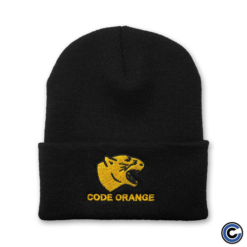 "Buy – Code Orange ""Panther"" Beanie – Band & Music Merch – Cold Cuts Merch"