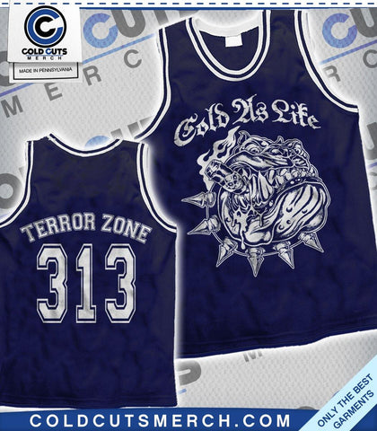 "Cold As Life ""Bulldog Cigar"" Basketball Jersey"