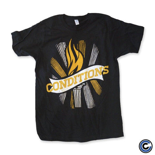 "Buy Now – Conditions ""Flame"" Shirt – Cold Cuts Merch"