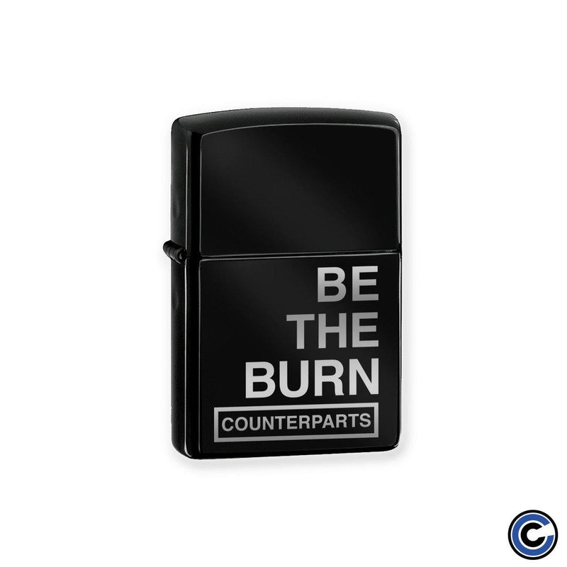"Counterparts ""Be The Burn"" Lighter"