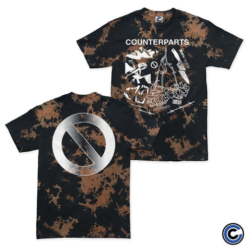"Counterparts ""Broken Knife"" Shirt"