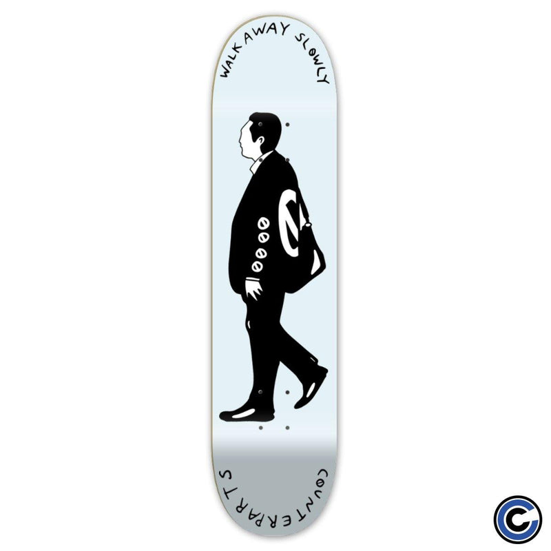 "Counterparts ""Walk Away"" Skate Deck"
