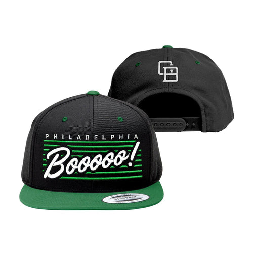 "Cracked Bell ""Boo"" Black/Green Snapback"