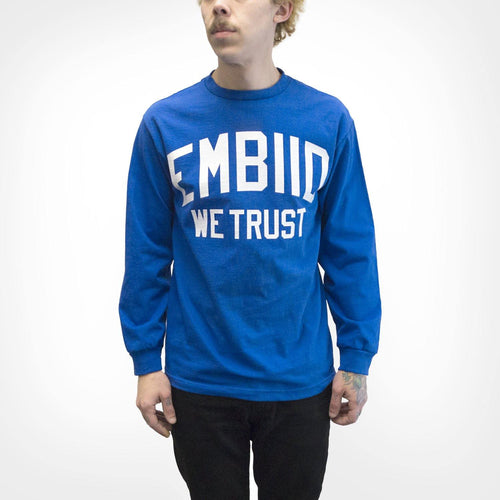 "Cracked Bell ""Embiid We Trust"" Long Sleeve"