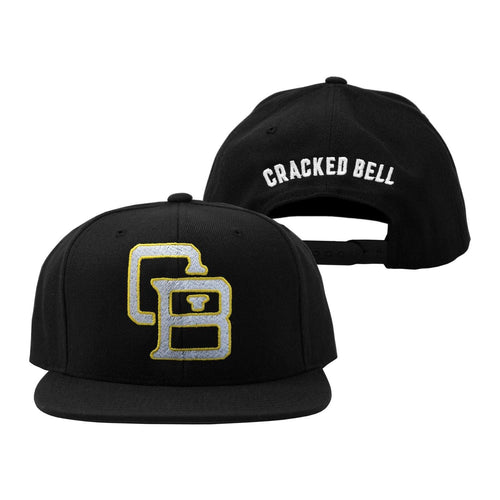 "Buy – Cracked Bell ""CB Arch"" Snapback – Band & Music Merch – Cold Cuts Merch"