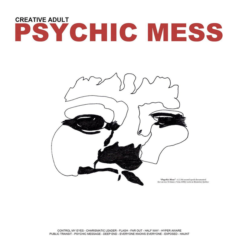 "Buy Now – Creative Adult ""Psychic Mess"" 12"" – Cold Cuts Merch"