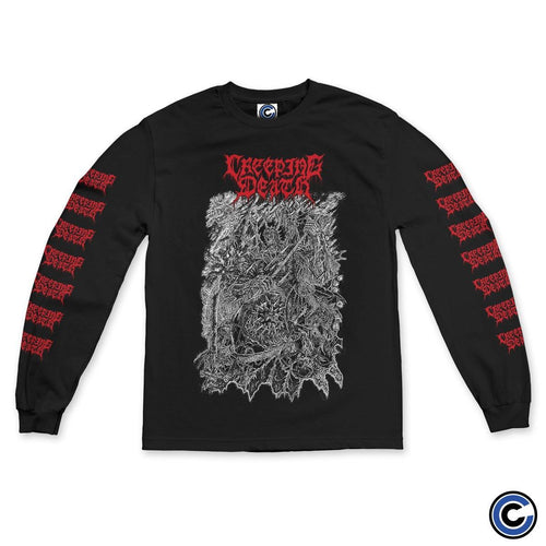 "Buy Now – Creeping Death ""Mace"" Long Sleeve – Cold Cuts Merch"
