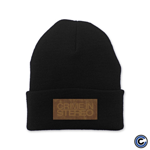 "Crime In Stereo ""Stacked Logo"" Beanie"