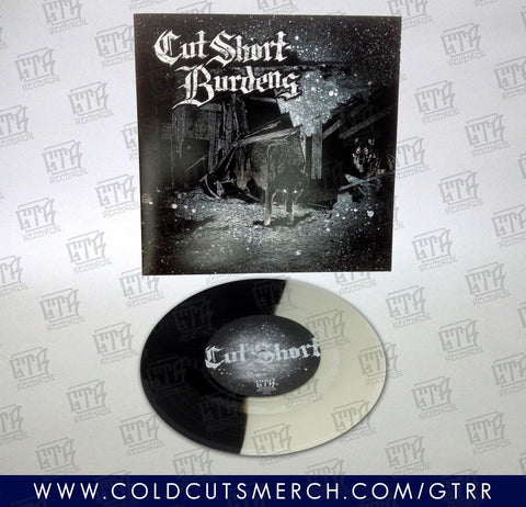Cut Short/Burdens split 7""