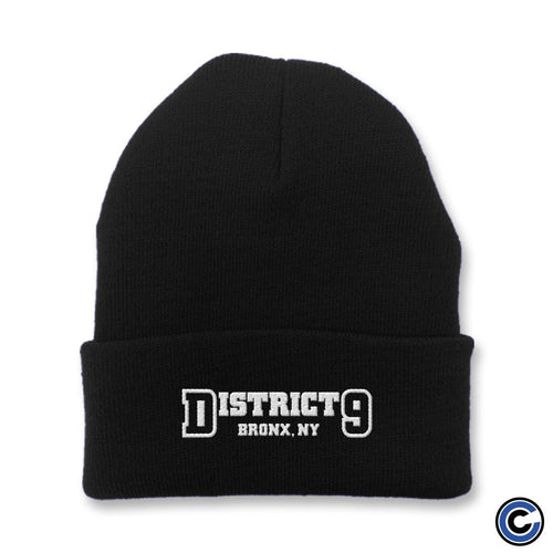 "District 9 ""Live Life"" Beanie"